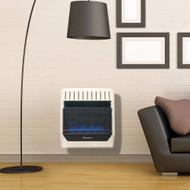 ProCom Heating Propane Gas Vent Free Blue Flame Gas Space Heater - 20,000 BTU, T-Stat Control - Model# ML200TBG