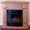 Electric Fireplace With Remote Control - Oak Finish, Model# SFE23RE-O