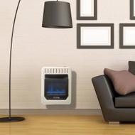ProCom Heating Natural Gas Vent Free Blue Flame Gas Space Heater - 10,000 BTU, T-Stat Control - Model# MN100TBG