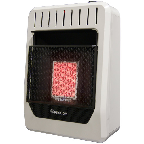 ProCom Heating Natural Gas Vent Free Infrared Gas Space Heater.