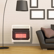 ProCom Heating Propane Gas Vent Free Infrared Gas Space Heater - 28,000 BTU, T-Stat Control - Model# ML3PTG