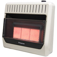 ProCom Dual Fuel Ventless Infrared Plaque Heater With Blower and Base Feet - 30,000 BTU, T-Stat Control - Model# MG3TIR-BB