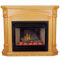 Deluxe Electric Fireplace With Remote Control - Oak Finish, Model# SFE24RE-O