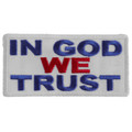Forever And Always carries Biker Patches;Biker Patches/Christian Biker Patches In God We Trust