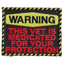 Forever And Always carries Biker Patches;Biker Patches/Veteran - Patriotic Patches;Biker Patches/Funny Biker Patches Warning Medicated Vet