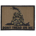 Forever And Always carries Biker Patches;Biker Patches/Veteran - Patriotic Patches Don't Tread On Me subdued green