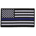 Forever And Always carries Biker Patches;Biker Patches/Veteran - Patriotic Patches ThinBlue Line American Flag