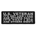 Forever And Always carries Biker Patches;Biker Patches/Veteran - Patriotic Patches US Veteran