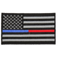 Forever And Always carries Biker Patches;Biker Patches/Veteran - Patriotic Patches Thin Blue and Red Line American Flag