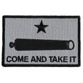 Forever And Always carries Biker Patches;Biker Patches/Veteran - Patriotic Patches Come And Take It Cannon on gray