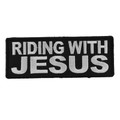 Forever And Always carries Biker Patches;Biker Patches/Christian Biker Patches Riding With Jesus