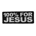 Forever And Always carries Biker Patches;Biker Patches/Christian Biker Patches 100% For Jesus