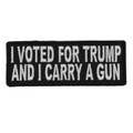 Forever And Always carries Biker Patches;Biker Patches/Veteran - Patriotic Patches;Biker Patches/Funny Biker Patches I Voted For Trump