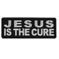 Forever And Always carries Biker Patches;Biker Patches/Christian Biker Patches Jesus is the Cure