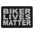 Forever And Always carries Biker Patches BIKER LIVES MATTER