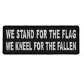 Forever And Always carries Biker Patches;Biker Patches/Christian Biker Patches;Biker Patches/Veteran - Patriotic Patches We Stand for the Flag