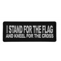 Forever And Always carries Biker Patches;Biker Patches/Christian Biker Patches;Biker Patches/Veteran - Patriotic Patches I Stand for the Flag