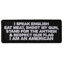 Forever And Always carries Biker Patches;Biker Patches/Veteran - Patriotic Patches I Am An American