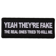 Forever And Always carries Biker Patches;Biker Patches/Funny Biker Patches Yeah They're Fake