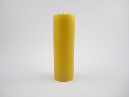 "1 ¾"" x 5 ½"" Beeswax Solid Pillar Candle in Natural"