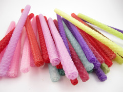 Beeswax Thin Taper Candles in Assorted Colors