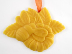 Beeswax Bee Ornament
