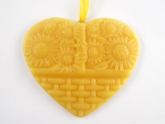 Beeswax Sunflower Ornament