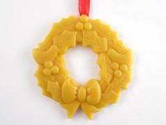 Beeswax Wreath Ornament
