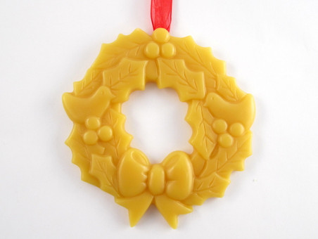 Beeswax Wreath Ornament