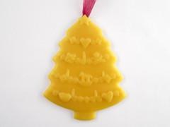Beeswax Christmas Tree Ornament