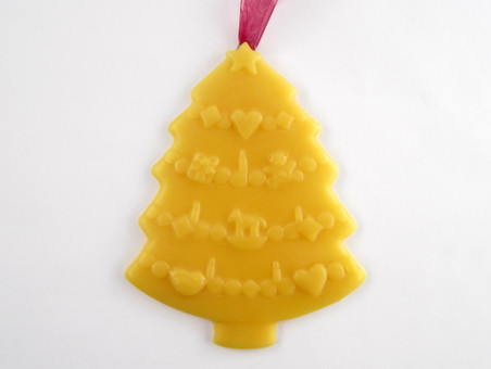 Beeswax Christmas Tree Ornament