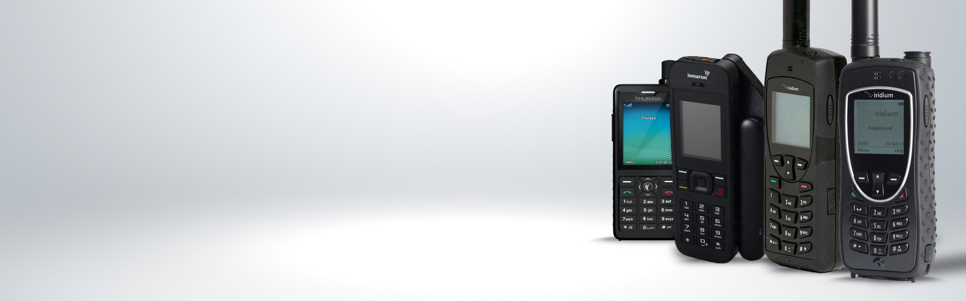 Portable handheld global satellite phones from iridium, inmarsat, & thuraya from NorthernAxcess