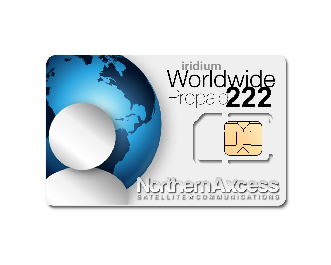 iridium 222 Global Sim card (Soon to be Discontinued)