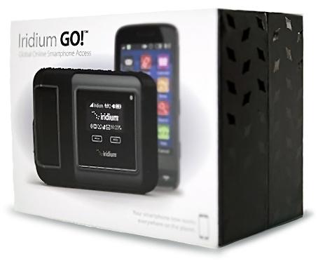 Iridium GO! Satellite Smartphone WiFi Hotspot | NorthernAxcess