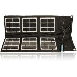 Satstation 18 watts foldable solar panel  for satellite phones