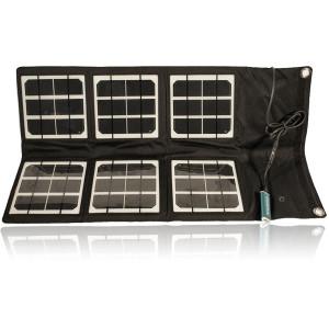 Satstation 18 watts foldable solar panel  for satellite phones