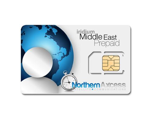 Iridium Prepaid Regional MENA sim card