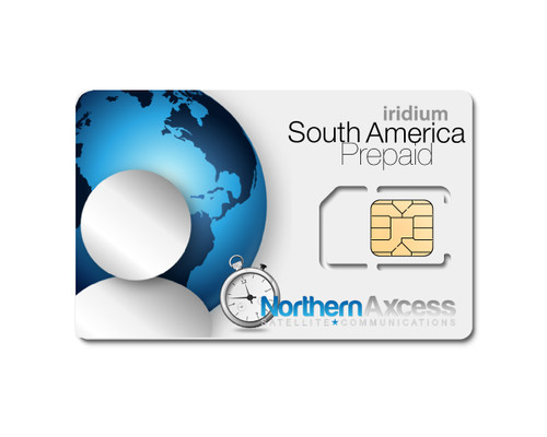 Iridium South America Prepaid Sim Card