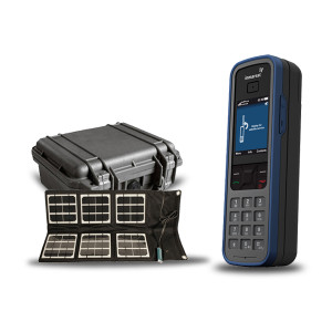 IsatPhone Pro Satellite Phone with Solar Panel and Pelican case