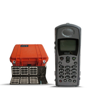 Refurbished Iridium 9505A Satellite Phone with  Solar Panel and 1400 Pelican Case