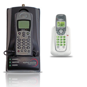 ASE Iridium 9505A Docking Station with 9505A Satellite Phone and Cordless Phone Base Station