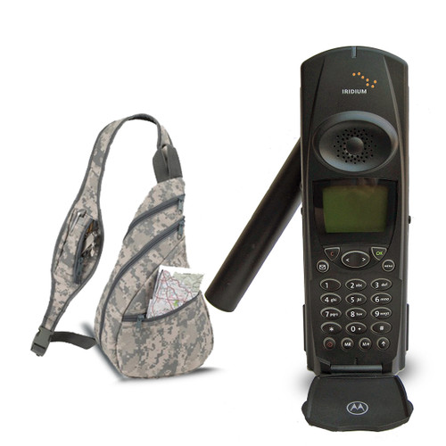 Iridium Motorola 9500  Satellite Phone Starter Kit
