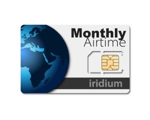 Iridium Postpaid Monthly Airtime