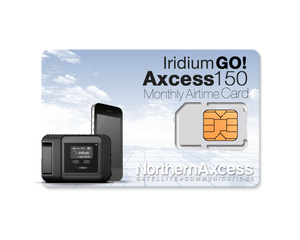 Iridium GO! Axcess 150 Monthly Airtime Plan