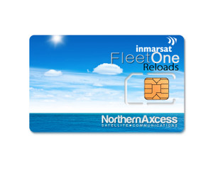 Reload Inmarsat Fleet One Prepaid Sim Cards