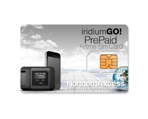 Reload Iridium GO! Prepaid Cards