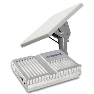 Hughes 9502 BGAN M2M Satellite Internet Modem - Two Piece