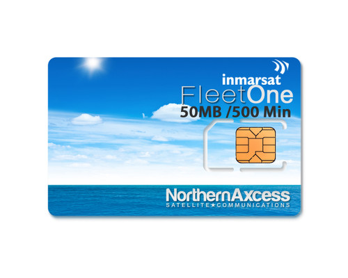 Inmarsat Fleet One Prepaid 250 Unit Sim Card