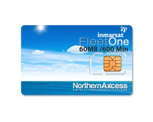 Inmarsat Fleet One Prepaid 300 Unit Sim Card