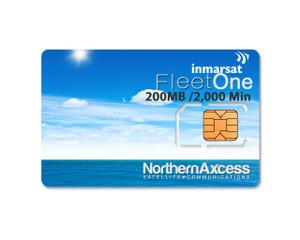 Inmarsat Fleet One Prepaid 1000 Unit Sim Card